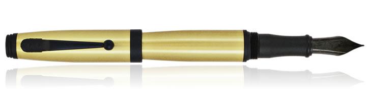 Brass Monteverde Invincia Series Fountain Pens