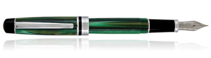 Green Monteverde Prima Series Fountain Pens