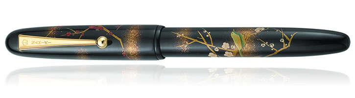 Namiki Yukari Collection Fountain Pens in Apricot Tree
