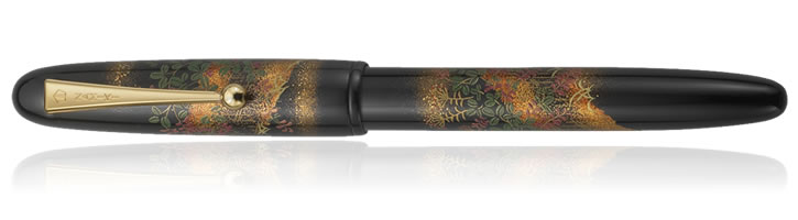 Namiki Yukari Collection Fountain Pens in Flower Fence
