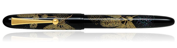 Namiki Yukari Collection Fountain Pens in Pine Needle