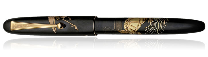 Namiki Nippon Art Collection Fountain Pens in Crane and Turtle