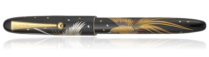 Namiki Nippon Art Collection Fountain Pens in Golden Pheasant