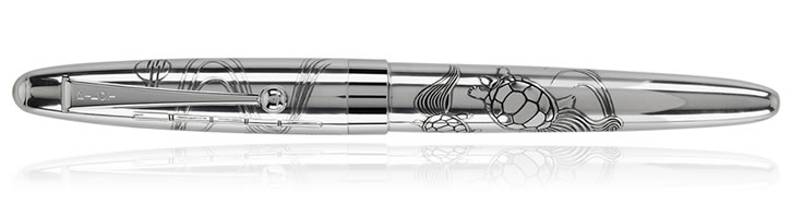 Namiki Sterling Collection Rollerball Pens in Turtles