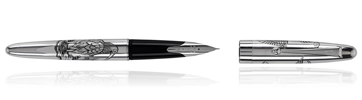 Toki Namiki Sterling Silver Collection Fountain Pens