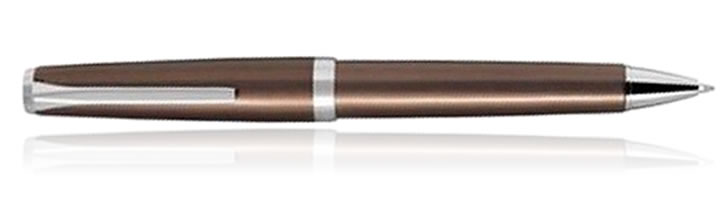Pilot Metal Falcon Collection Ballpoint Pens in Brown