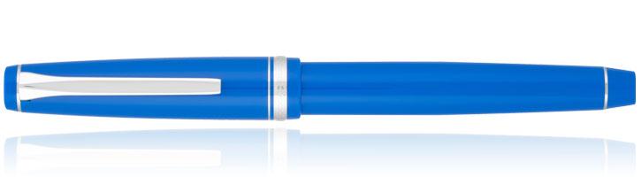 Blue Rhodium Pilot Falcon Collection Fountain Pens