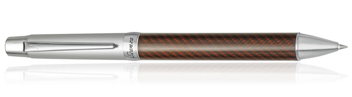 Pilot Stanza Collection Ballpoint Pens in Brown Carbon
