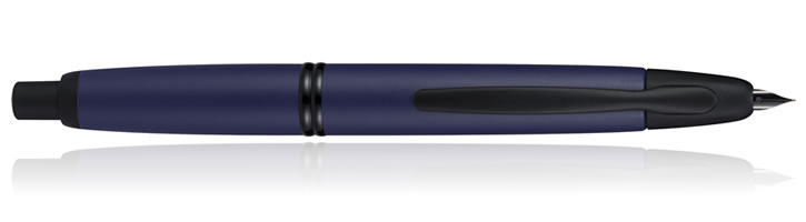 Pilot Vanishing Point Collection Fountain Pens in Blue Matte