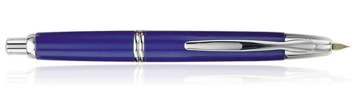 Blue / Rhodium Pilot Vanishing Point Collection Fountain Pens