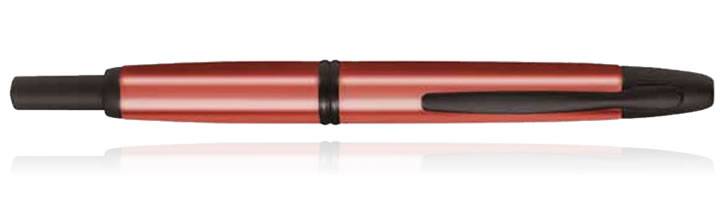 Pilot Vanishing Point Collection Fountain Pens in Copper Red