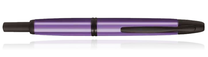 Pilot Vanishing Point Collection Fountain Pens in Tropical Purple