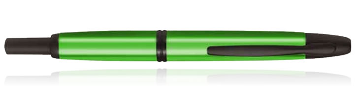 Pilot Vanishing Point Collection Fountain Pens in Valley Green