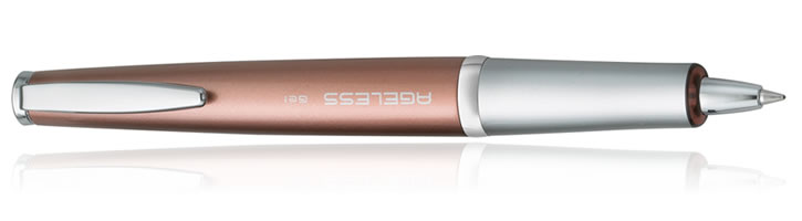 Pilot Ageless Future Collection Ballpoint Pens in Copper Gel