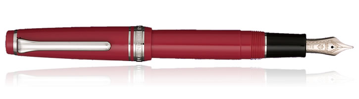 Sailor Professional Gear Slim Series Fountain Pens in Framboise