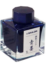 Sailor Pigmented Ink(50ml)  in Seiboku Blue