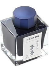 Sailor Pigmented Ink(50ml)  in Souboku Blue Black