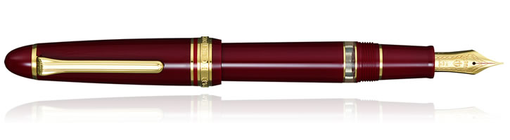 Maroon Sailor 1911 Realo Fountain Pens