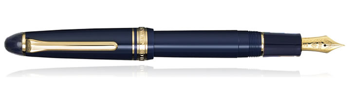 Sailor 1911 Standard Fountain Pens in All Blue
