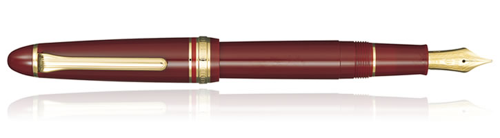 Sailor 1911 Standard Fountain Pens in Maroon