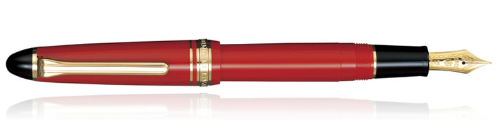 Sailor 1911 Standard Fountain Pens in Red