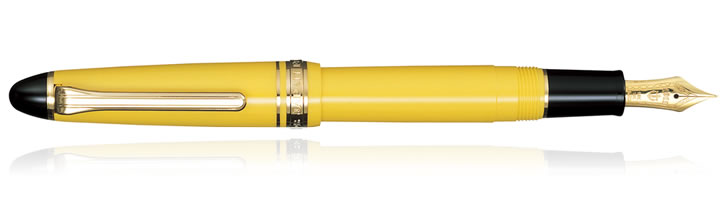 Sailor 1911 Standard Fountain Pens in Yellow