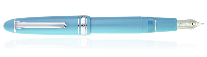 Fresca Blue Sailor 1911 Large Fountain Pens