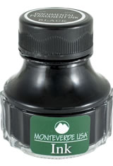 Black Permanent Monteverde Bottled Ink(90ml) Fountain Pen Ink