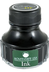 Monteverde Bottled Ink(90ml) Fountain Pen Ink in Blue Black