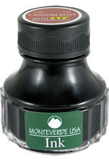Monteverde Bottled Ink(90ml) Fountain Pen Ink in Canyon Rust