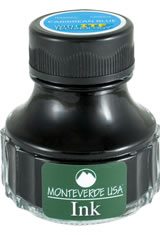 Monteverde Bottled Ink(90ml)  in Caribbean Blue