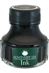 Monteverde Bottled Ink(90ml) Fountain Pen Ink in Coal Noir