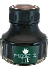 Monteverde Bottled Ink(90ml) Fountain Pen Ink in Copper Noir
