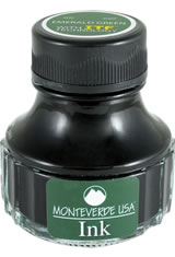 Monteverde Bottled Ink(90ml) Fountain Pen Ink in Emerald Green