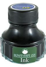 Horizon Blue Monteverde Bottled Ink(90ml) Fountain Pen Ink