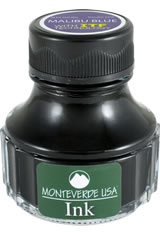 Malibu Blue Monteverde Bottled Ink(90ml) Fountain Pen Ink