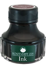 Mercury Noir Monteverde Bottled Ink(90ml) Fountain Pen Ink