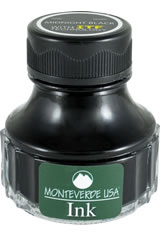 Monteverde Bottled Ink(90ml) Fountain Pen Ink in Midnight Black