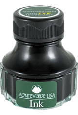 Monteverde Bottled Ink(90ml) Fountain Pen Ink in Monteverde Green