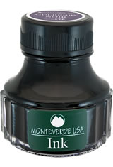 Monteverde Bottled Ink(90ml) Fountain Pen Ink in Mulberry Noir