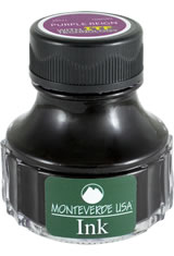 Monteverde Bottled Ink(90ml) Fountain Pen Ink in Purple Reign