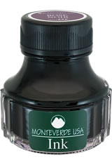 Monteverde Bottled Ink(90ml) Fountain Pen Ink in Rose Noir