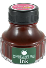 Monteverde Bottled Ink(90ml) Fountain Pen Ink in Rose Pink