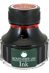 Monteverde Bottled Ink(90ml) Fountain Pen Ink in Ruby