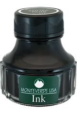 Monteverde Bottled Ink(90ml) Fountain Pen Ink in Smoke Noir