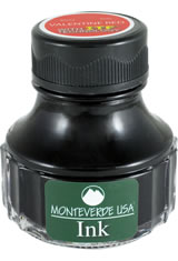 Monteverde Bottled Ink(90ml) Fountain Pen Ink in Valentine Red