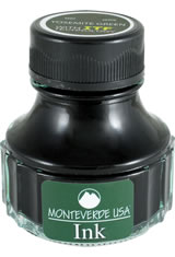 Monteverde Bottled Ink(90ml) Fountain Pen Ink in Yosemite Green