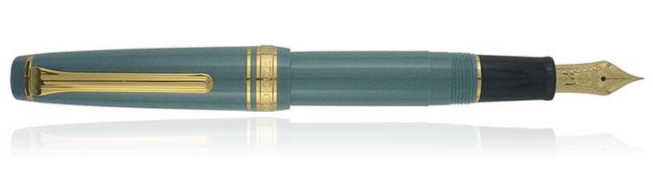Slate Green Sailor Professional Gear Slim Mini Series Fountain Pens
