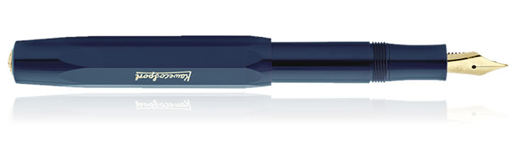 Kaweco Classic Sport Fountain Pens in Navy Blue
