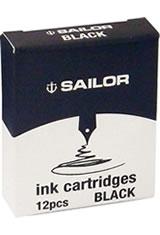 Sailor Jentle Ink Cartridge(12pk) Fountain Pen Ink